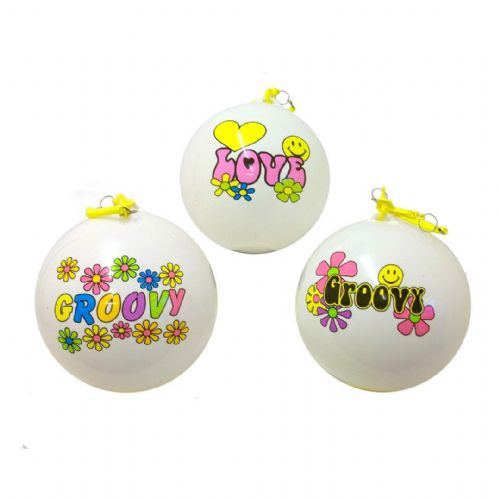 "10"" Smelly Balls Groovy Style - Punch Balloons x 1"